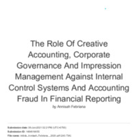 CEK PLAGIASI_The Role Of Creative Accounting,.pdf
